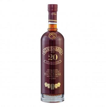 Ron Centenario Rum 20 Fundación 40% 700ml