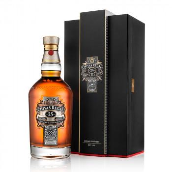 Chivas Regal 25 Jahre Premium Blended Scotch Whisky 40% Vol. 700ml