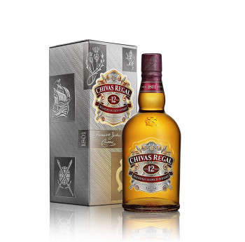 Chivas Regal 12 Jahre Premium Blended Scotch Whisky 40% Vol. 700ml
