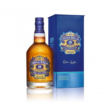 Chivas Regal 18 Jahre Gold Signature Blended Scotch Whisky 40% Vol. 700ml