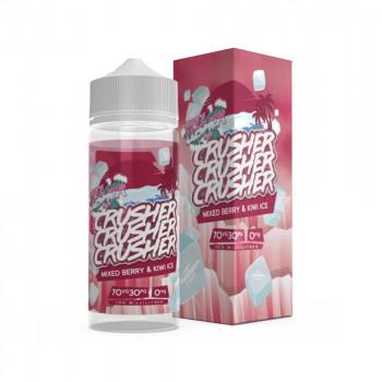 Mixed Berry & Kiwi Ice 100ml Shortfill Liquid by Crusher