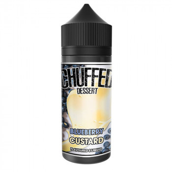 Blueberry Custard 100ml Shortfill Liquid by Chuffed