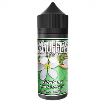 Elderberry Mint & Tart Apple 100ml Shortfill Liquid by Chuffed