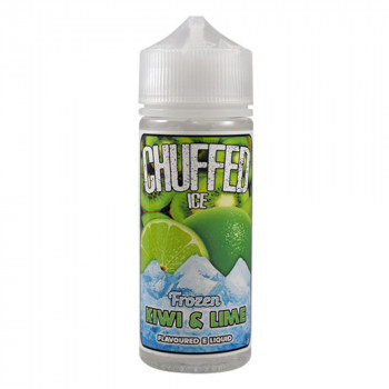 Frozen Kiwi & Lime - Ice 100ml Shortfill Liquid by Chuffed