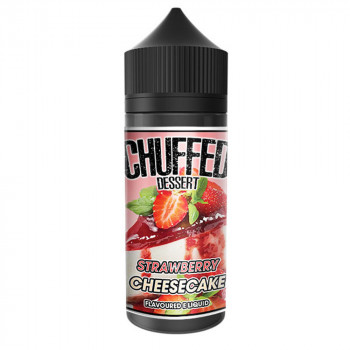 Strawberry Cheesecake 100ml Shortfill Liquid by Chuffed