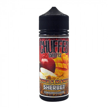 Apple and Mango Sherbet 100ml Shortfill Liquid by Chuffed