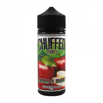 Apple and Mint 100ml Shortfill Liquid by Chuffed