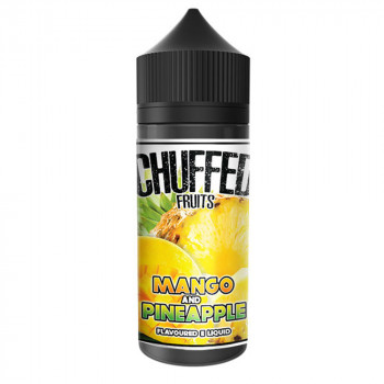 Mango and Pineapple 100ml Shortfill Liquid by Chuffed Fruits