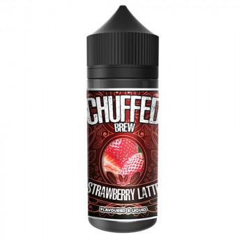 Strawberry Latte 100ml Shortfill Liquid by Chuffed Brew