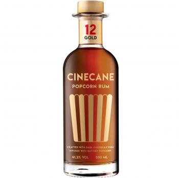 CINECANE Popcorn Rum Gold 41% Vol. 500ml