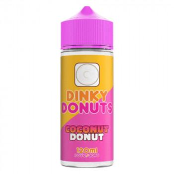 Coconut Donut 100ml Shortfill Liquid by Dinky Donuts
