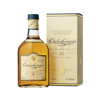 Dalwhinnie Highland Single Malt Scotch Whisky 15 Jahre 43% Vol. 700ml