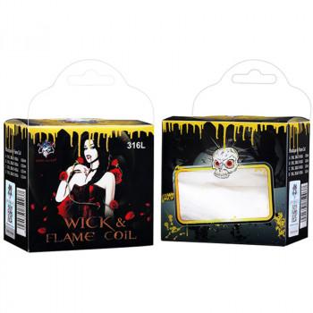 Demon Killer Wick & Flame Coil SS316L