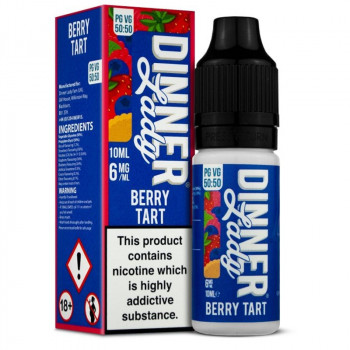 Berry Tart Original Serie 50/50 10ml Liquids by Dinner Lady