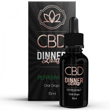 Peppermint 15ml Oral Drops by Dinner Lady CBD