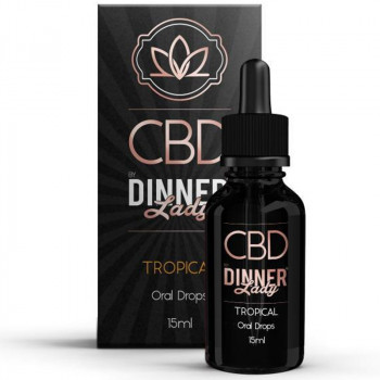 Tropical Juice 15ml Oral Drops by Dinner Lady CBD