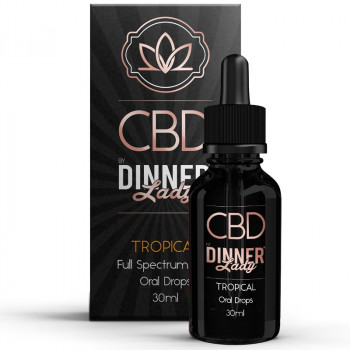 Tropical Juice 30ml Oral Drops by Dinner Lady CBD