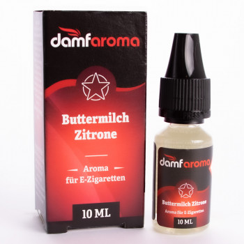 Buttermilch Zitrone 10ml Aroma by Damfaroma