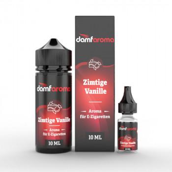 Zimtige Vanille 10ml Longfill Aroma by Damfaroma