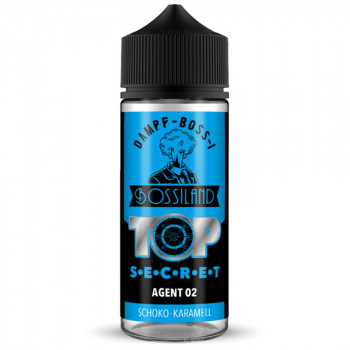 Agent 02 Bossiland TOP SECRET 20ml Longfill Aroma by Dampf-Boss-I