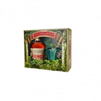 Don Papa Rum Sugarlandia Geschenkset mit Glas 40% - 700 ml