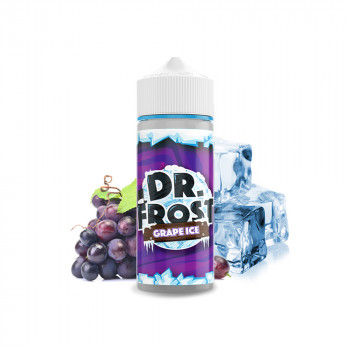 Grape Ice 100ml Shortfill Liquid by Dr. Frost