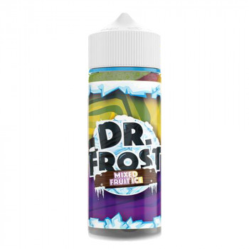 Mixed Fruit Ice 100ml Shortfill Liquid by Dr. Frost Frosty Fizz