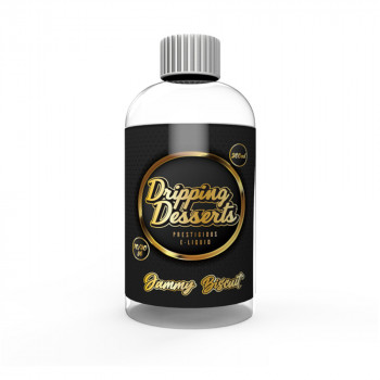 Jammy Biscuit 200ml Shortfill Liquid by Dripping Desserts