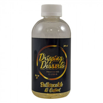 Butterscotch & Custard 200ml Shortfill Liquid by Dripping Desserts