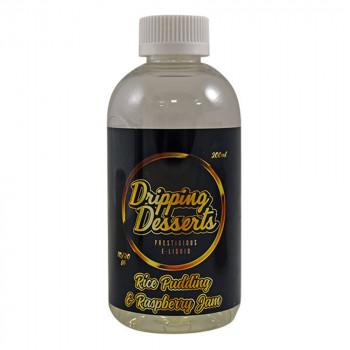 Rice Pudding & Raspberry Jam 200ml Shortfill Liquid by Dripping Desserts