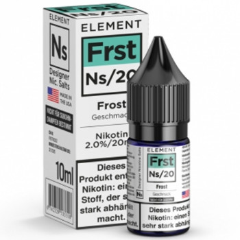 Frst Frost Ns20 10ml 20mg by Element e-Liquid