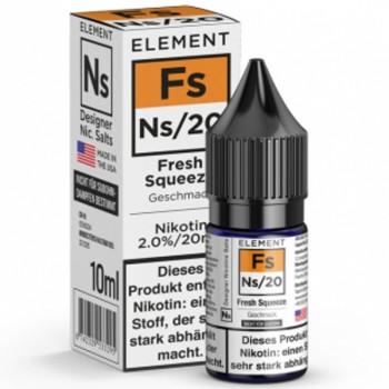 Fs Fresh Squeeze Ns20 10ml 20mg by Element e-Liquid