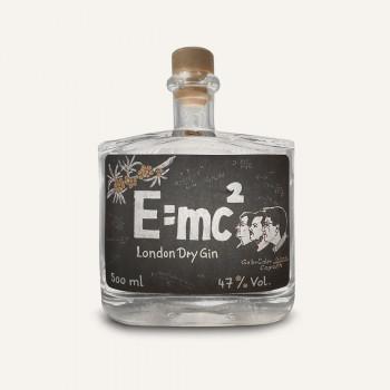 Gebrüder Ginnn E=mc² London Dry Gin 47% Vol. 500ml