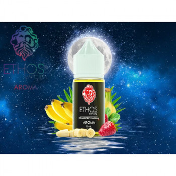 Strawberry Banana 30ml Aroma by Ethos Vapors