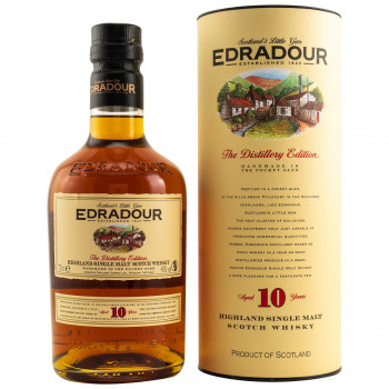 Edradour 10Jahre Single Malt Scotch Whisky 40% Vol. 700ml
