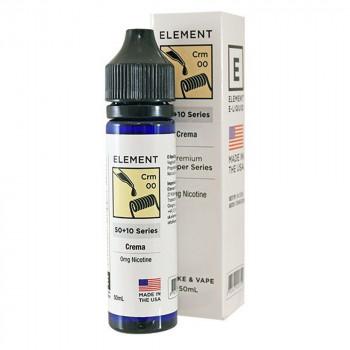 Crema 50ml Shortfill Liquid by Element