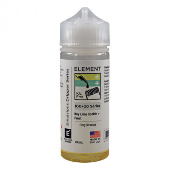 Key Lime Cookie + Frost Dripper Serie (100ml) Shortfill by Element E-Liquid
