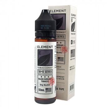 Blackcurrant Tobacco 50ml Shortfill Liquid by Tonix Element