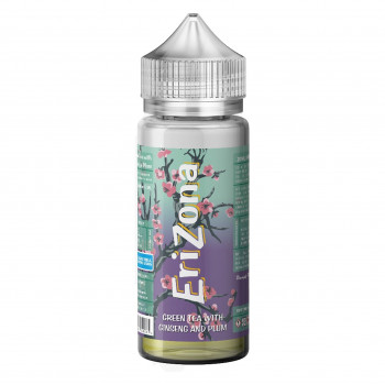 Green Tea With Ginseng and Plum 20ml Longfill Aroma by Erizona