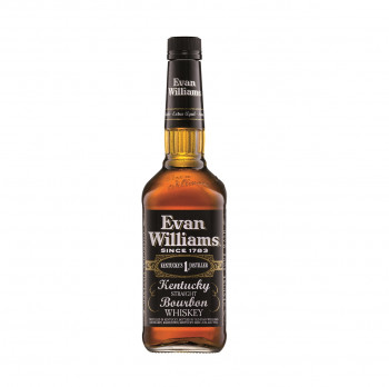 Evan William Black Label Kentucky Straight Bourbon Whiskey 43% Vol. 700ml
