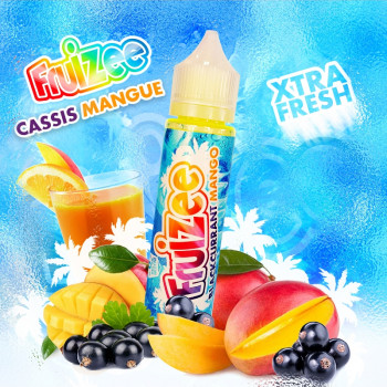 Cassis Mangue (50ml) Plus e Liquid by Fruizee