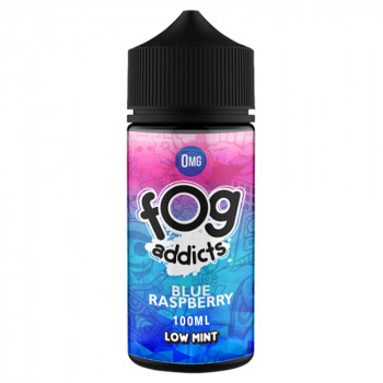 Blue Raspberry 100ml Shortfill Liquid by Fog Addicts