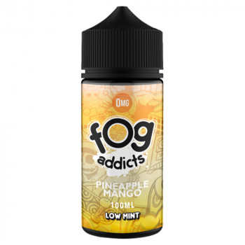 Pinapple Mango 100ml Shortfill Liquid by Fog Addicts