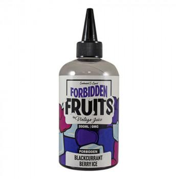 Blackcurrant Berry Ice 200ml Shortfill Liquid by Forbidden Fruits