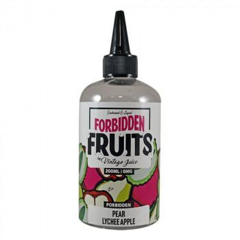 Pear Lychee Apple Fruits 200ml Shortfill Liquid by Forbidden Fruits