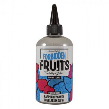 Raspberry Candy Bubblegum 200ml Shortfill Liquid by Forbidden Fruits