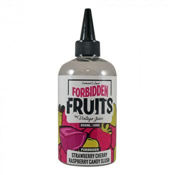 Strawberry Cherry Raspberry Candy Slush 200ml Shortfill Liquid by Forbidden Fruits