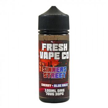 Sinner Street 100ml Shortfill Liquid by Fresh Vape Co.