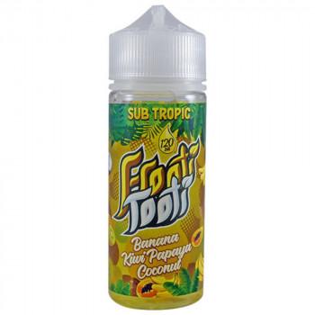 Banana Kiwi Papaya Coconut 100ml Shortfill Liquid by Frooti Tooti