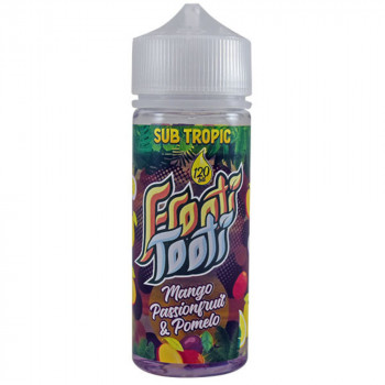 Mango Passionfruit Pomelo 100ml Shortfill Liquid by Frooti Tooti